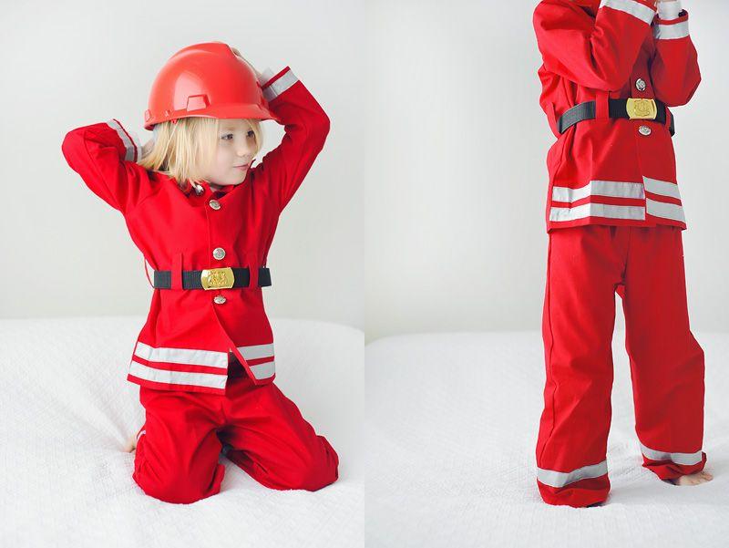 Костюм пожарного своими руками